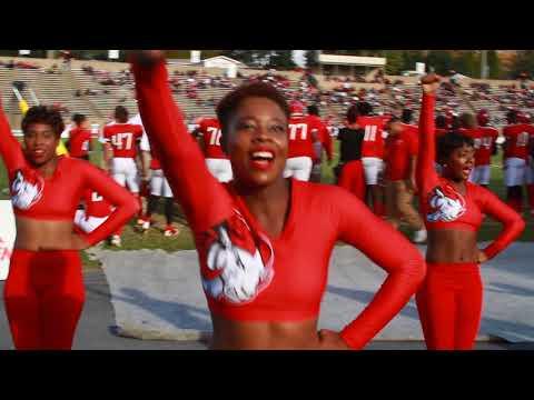 2017 WSSU Cheerleaders Homecoming, Get Up