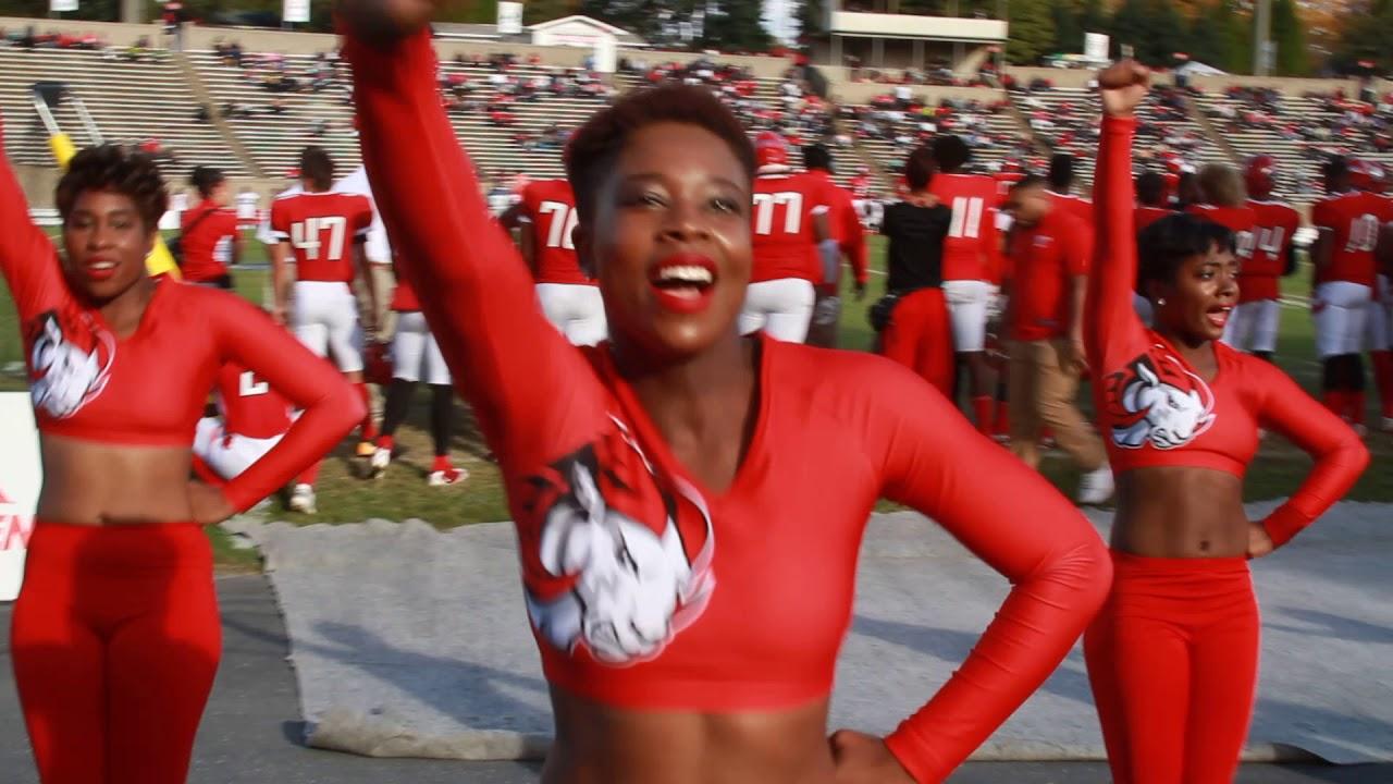 2017 WSSU Cheerleaders Homecoming. Get Up - YouTube