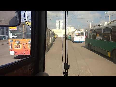 Троллейбусы на карантине