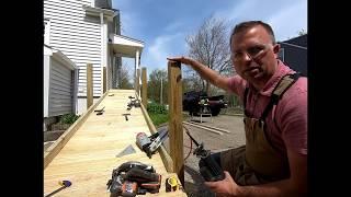 Build A Handicap Access Ramp -- Not Hard At All