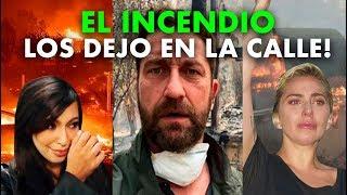 """Los FAMOSOS Se Quedaron """"En La Calle"""" Tras Los Incendios En CALIFORNIA!"""