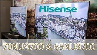 Hisense 70NU9700 / 65NU8700 ULED - UHD 4K TV