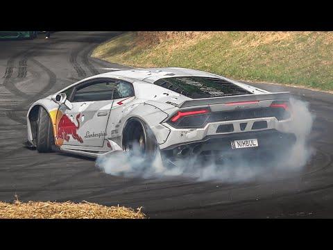 Best of Drift Cars at Festival of Speed 2019: 2JZ Supra MK5, Mad Mike' Lamborghini, GT86 Ferrari V8