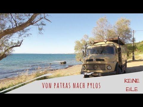Roadtrip Griechenland: Mit dem Wohnmobil von Patras nach Pylos
