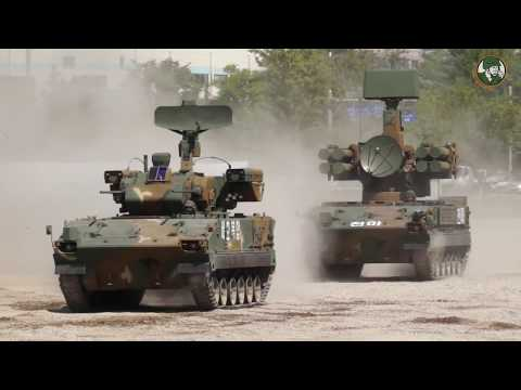 DX Korea 2018 South Korean army ROK air defense and light tactical armored vehicles