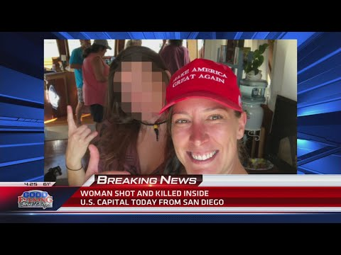 San Diego woman fatally shot inside US Capitol was 14-year veteran and 'strong supporter' of Trump