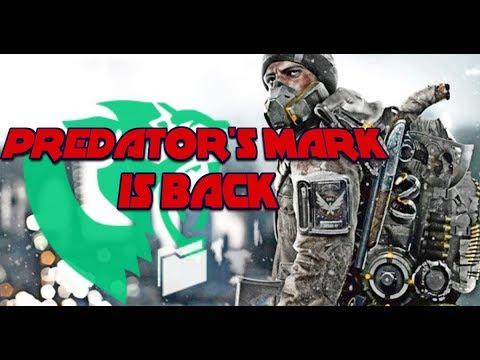 Classified Predator's Mark PVP/Skirmish Build   Tom Clancy's The Division