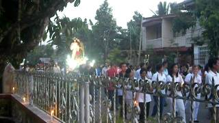 Good Friday Procession in Banga, Aklan on April 2011 pt. 3
