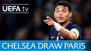 Chelsea v Paris UEFA Champions League goals
