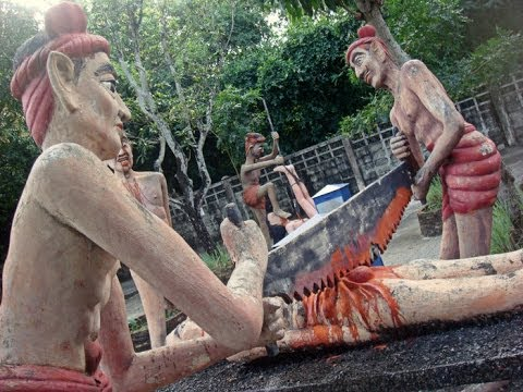 Hell theme park in Thailand - Wang Saen Suk