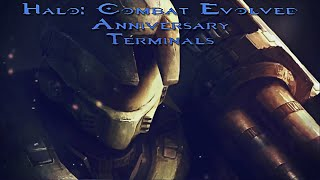 Halo Combat Evolved Anniversary | All Terminals