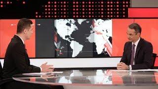 Συνέντευξη Κυριάκου Μητσοτάκη στο κεντρικό δελτίο ειδήσεων του τηλεοπτικού σταθμού «Alpha»