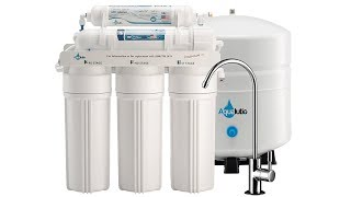 AquaLutio Premium 5 Stage Reverse Osmosis Filtration Home System Review