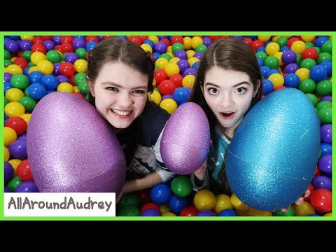 Ball Pit Surprise Easter Egg Hunt /AllAroundAudrey