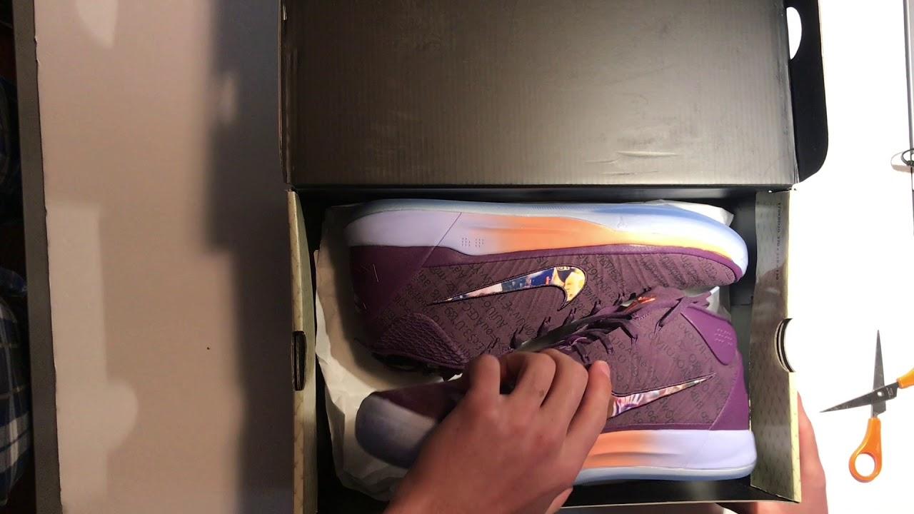 ae12f809927 Nike Kobe AD Devin Booker PE Unboxing. Sneaker Journey