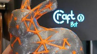 CraftBot 3 3D Printer Review - Heavy Duty IDEX Beast
