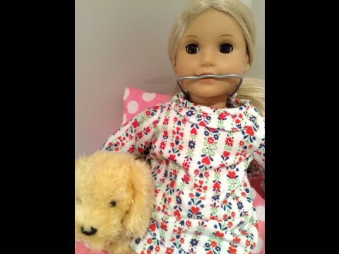 American Girl 365 Outfit Of The Day 4 Sweet Dreams Nightgown For American Girl Doll