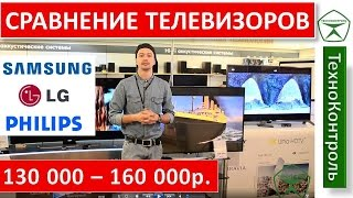 Обзор Ultra HD телевизоров LG, Samsung, Philips до 160 000р. | Technocontrol