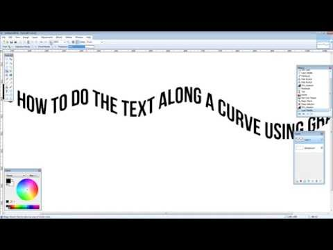 Paint.NET how to make Text along a curve