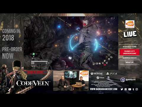 CODE VEIN - First Blood Livestream | X1, PS4, PC