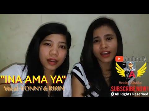 """Lagu Pop Daerah Sabu  """"INA AMA YA"""" (Cover by: VONNY & RIRIN)"""