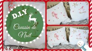 D.I.Y Coussin de Noël :) Thumbnail