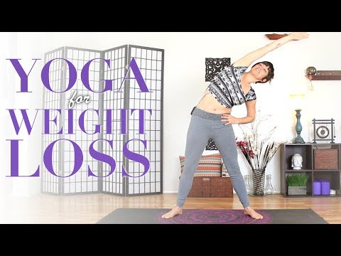 Weight Loss Yoga - Core Strengthening, Muscle Toning, & Calorie Burning Workout
