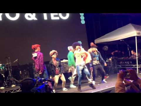 """Ayo & Teo x The Future Kingz (Full Performance) """"Mask Off"""" Live"""