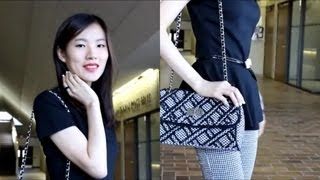 OOTD - Peplum & Houndstooth - the contrast of Black & White Thumbnail