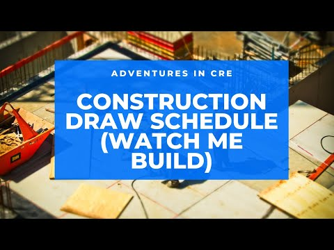 Watch Me Build: Construction Draw Schedule