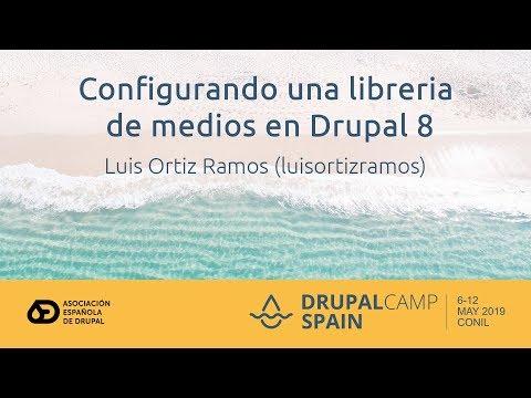 Configurando una libreria de medios en Drupal 8 thumbnail