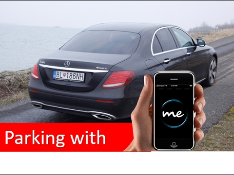 Mercedes Benz E400 - Remote Parking & Concierge Service Call