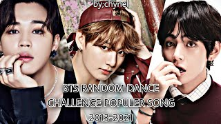 🎶BTS RANDOM PLAY DANCE Populer song