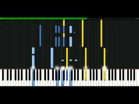 Kenny Rogers - Through the years [Piano Tutorial] Synthesia | passkeypiano