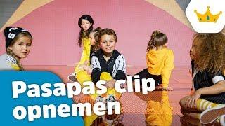 HOE IS DE CLIP VAN PASAPAS GEMAAKT? (Vlog 102) - Kinderen voor Kinderen