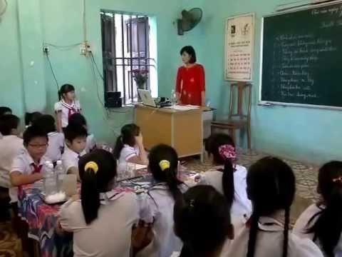 Tính chất của nước - Khoa học lớp 4