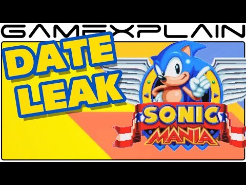 Sonic Mania Release Date Seemingly Leaked on Steam Store
