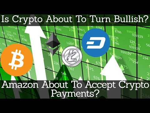 Crypto News | Is Crypto About To Turn Bullish? Amazon About To Accept Crypto Payments?