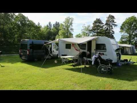 På camping gennem Sverige og Norge: Gensyn med Nordkapp -- Del 1