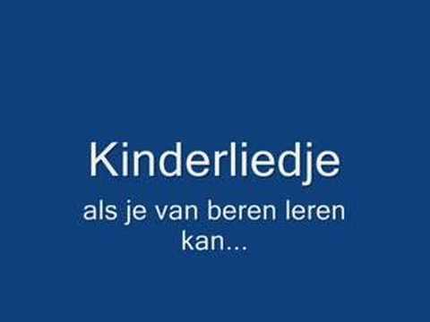 Icon Als Je Van Beren Leren Kan