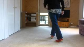 Love Is In The Air Line Dance  (Strictly Ballroom) by Barbara Hile -Riverwood Dancers NSW