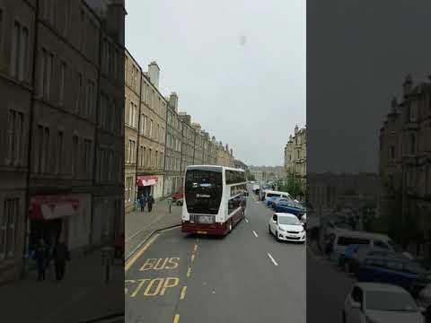 EDINBURGH - Bus Ride
