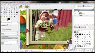 Как бесплатно вставить фото в рамку(Кликай по ссылке http://www.gimpart.org/videokurs?utm_medium=foto-v-ramky&utm_source=youtube , чтобы получить бесплатный видео-курс по графиче..., 2013-11-10T18:30:55.000Z)
