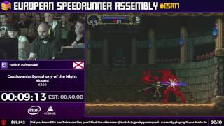 #ESA17 Speedruns - Castlevania: Symphony of the Night [Alucard] by Metako