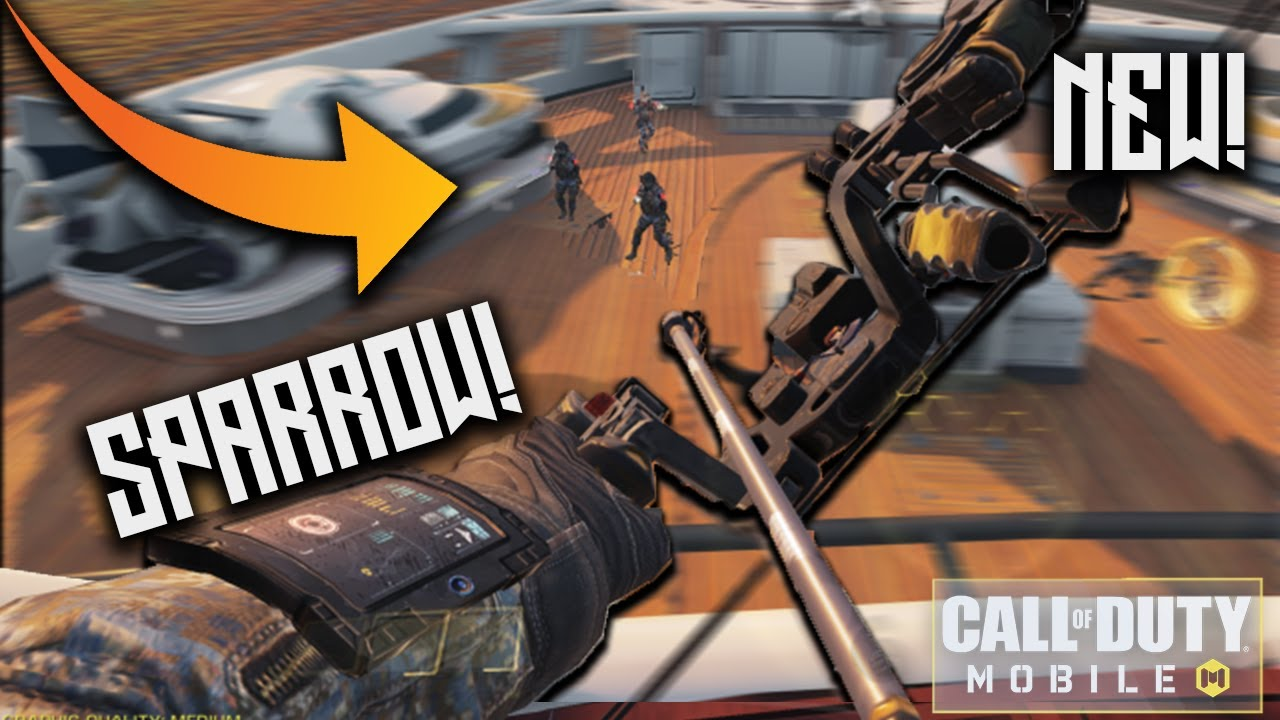 THE NEW SPARROW IS INSANE! Best Operator in Call Of Duty: Mobile! (easy nukes gameplay)