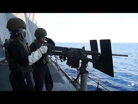 MK-46 30mm Gun Weapon System & .50 Caliber Machine Gun Live-Fire