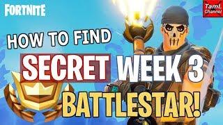 Fortnite: How to Find SECRET Week 3 Road Trip BATTLESTAR!