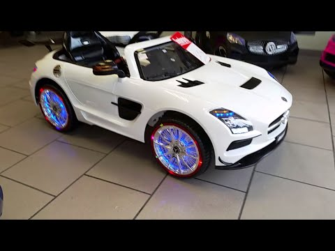 mercedes benz sls amg neu 2015 highlight kinderauto usb sd like fast and furious youtube. Black Bedroom Furniture Sets. Home Design Ideas