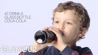 5 Year Old Boy Tries 58 Things For The First Time | Glamour