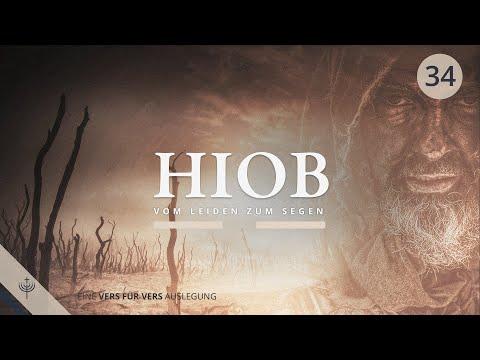 Der dreieinige Gott im Buch Hiob - Vom Leiden zum Segen (Teil 34)   Ab Kap. 33,1   Roger Liebi